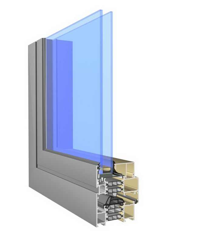 Superial alumínium ablak profil